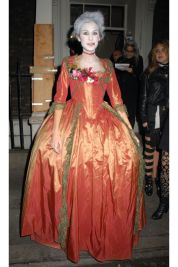 Alexa Chung as Zombie Marie Antoinette, 2008. Photo via Getty Images