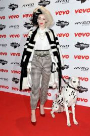 Iggy Azalea as Cruella Deville, 2013. Photo via Getty Images