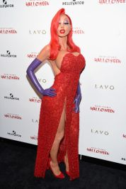 Heidi Klum as Jessica Rabbit, 2015. Photo via Getty Images