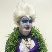 Colton Haynes as Ursula, 2015. Photo via Colton Haynes/ Instagram